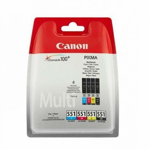 Canon CLI-551 Bk,C,M,Y eredeti tintapatron multipack