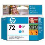 HP C9383A No.72 magenta / kék eredeti nyomtatófej